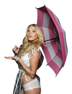 Victoria's Secret Pink & Black VS Umbrella
