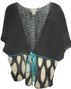 Echo Crocheted Vest Crochet Cardigan