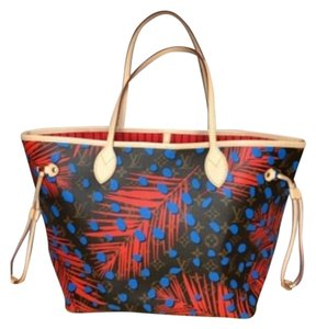 Louis Vuitton Tote in Jungle Monogram Limited Edition