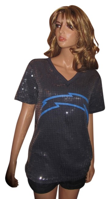 Preload https://item2.tradesy.com/images/victoria-s-secret-new-limited-edition-sequins-nfl-chargers-ml-tee-shirt-size-10-m-1520081-0-0.jpg?width=400&height=650