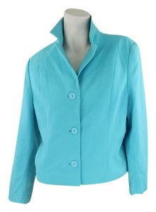 A Perfect Day In Paradise Blue Blazer