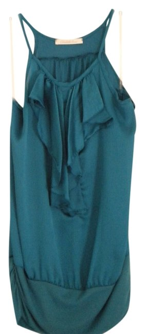 Charlotte Russe Top Blue/Teal
