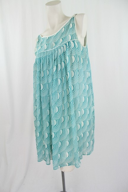Alyx short dress Off-White and Teal on Tradesy