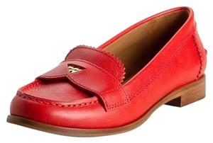 Tory Burch Penny Loafers Loafers Red Flats