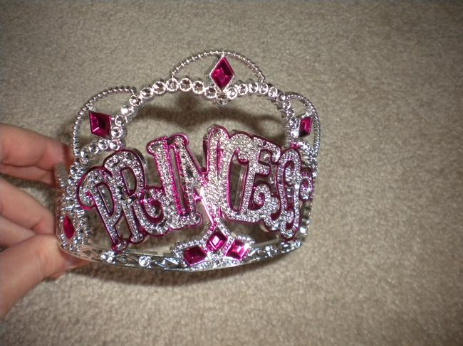 Item - Pink and Silver Bachelorette Party Tiara