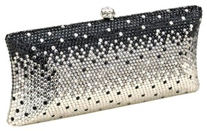 Other Black, Clear, Rhodium Clutch