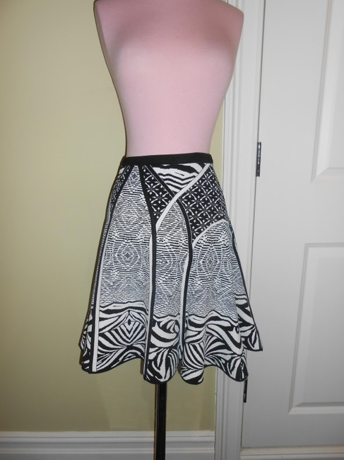Diane von Furstenberg Skirt black and white