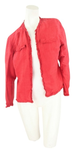 Preload https://item2.tradesy.com/images/chico-s-red-jacket-1520176-0-0.jpg?width=400&height=650