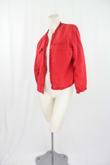 Chico's Red Jacket