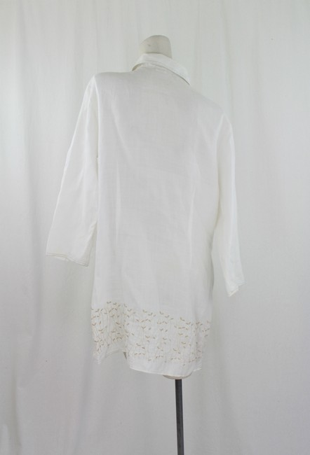 Harris Wallace Button Down Shirt Off-White