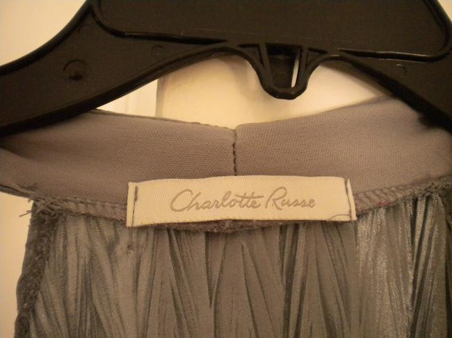 Charlotte Russe Top Silver