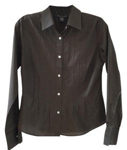 Banana Republic Button Down Shirt Mocha