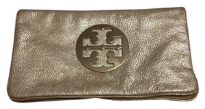 Tory Burch Shoulder Silver Clutch