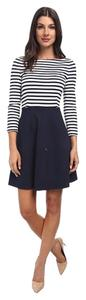 Kate Spade short dress Navy/white on Tradesy