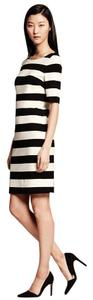 Banana Republic short dress Black/white Summer on Tradesy