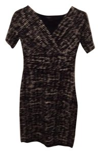 Ann Taylor short dress Black/white on Tradesy