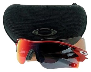 Oakley Oakley OO9181-16 Red Female Sunglasses