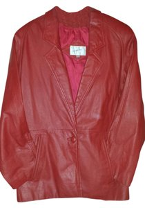 Jacqueline Ferrar Leather Red or Black Leather Jacket