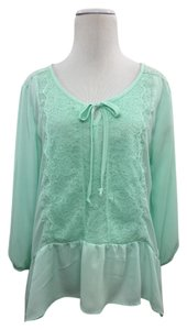 Self Esteem Top Mint green