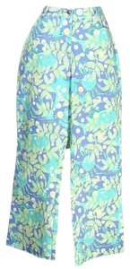 Lilly Pulitzer Capris Blue