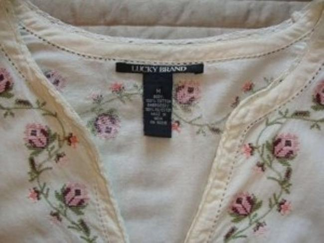 Lucky Brand Top Off White