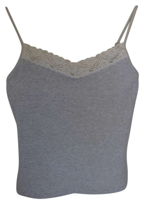 Preload https://img-static.tradesy.com/item/152064/victoria-s-secret-light-grey-moda-international-xs-with-lace-trim-on-the-front-straps-are-adjustable-0-0-650-650.jpg