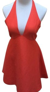 Halston Halter Dress