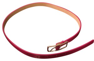 7 For All Mankind 7 for All Mankind Magenta Patent Leather Belt