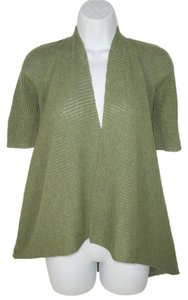 Eileen Fisher Wool Knit Sweater Asymmetric Cardigan