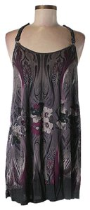 Free People short dress Purple Print on Tradesy