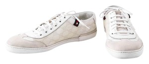Gucci Lace Up Mens Sneakers White Athletic