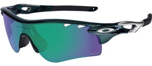 Oakley Sport OO9181-15 Oakley Metallic Green Male Sunglasses