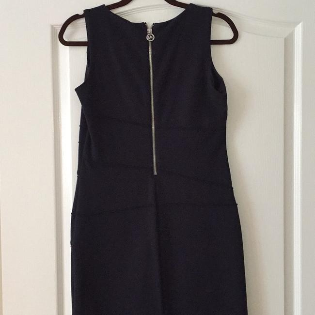 MICHAEL Michael Kors short dress Deep navy with silver zipper accents on Tradesy Image 1