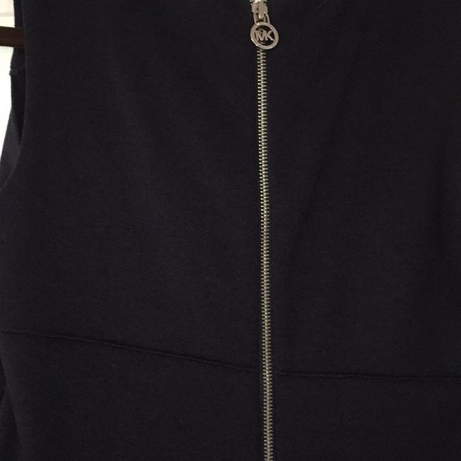 MICHAEL Michael Kors short dress Deep navy with silver zipper accents on Tradesy Image 3