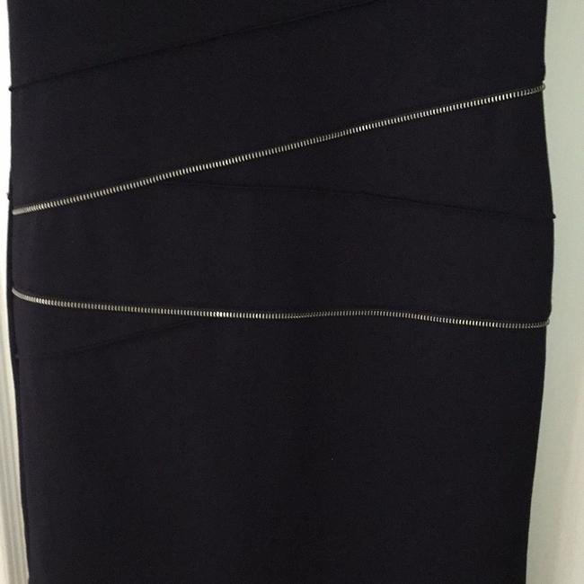 MICHAEL Michael Kors short dress Deep navy with silver zipper accents on Tradesy Image 6