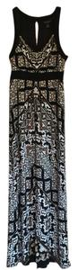 black/brown/white Maxi Dress by White House | Black Market