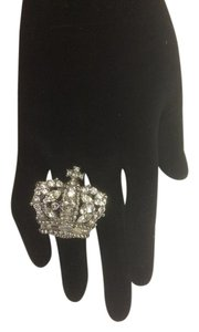 Other R73 Juicy Crown Clear Crystal Ring