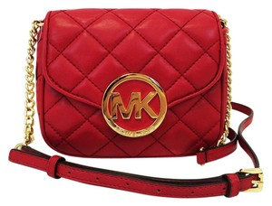 MICHAEL Michael Kors Quilted Leather Small Fulton Small Chain Cross Body Bag