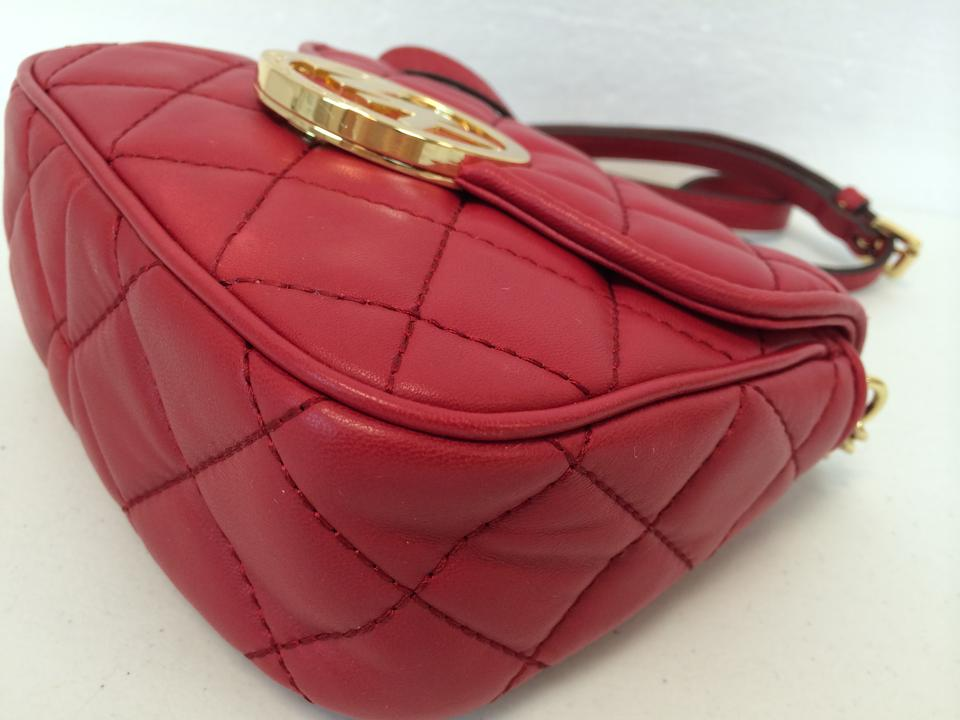 a7c0e0d2d346 MICHAEL Michael Kors Fulton Quilted Leather Magnetic Flap Small Cross Body  Bag Image 11. 123456789101112