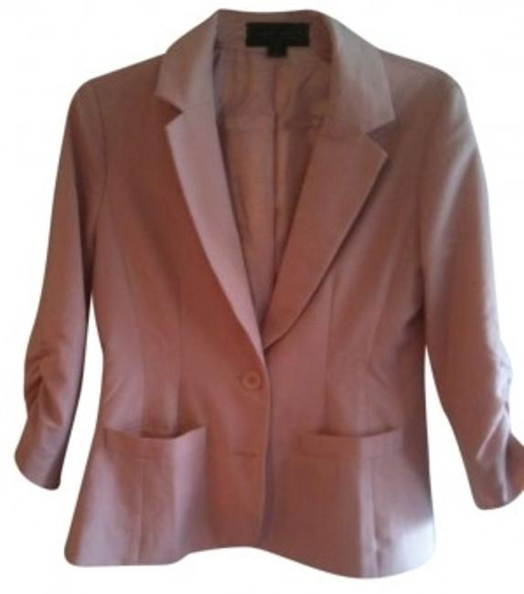 Preload https://item1.tradesy.com/images/forever-21-peach-two-button-quarter-sleeve-blazer-size-6-s-152085-0-0.jpg?width=400&height=650