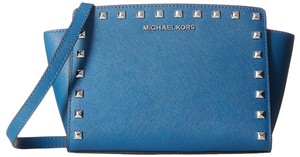 Michael Kors STEEL BLUE Messenger Bag