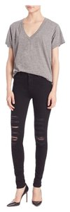 J Brand Maria Highrise Skinny Jeans-Distressed