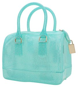 Other Tote in Mint Green, Gold