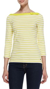 Kate Spade T Shirt Yellow/white