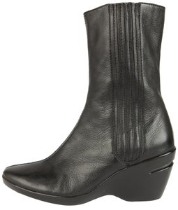 Cole Haan Short Wedge Black Boots