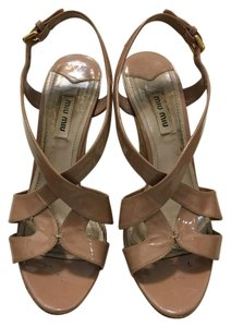 Miu Miu Nude Wedges