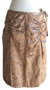 Cynthia Rowley Pencil Straight Skirt taupe