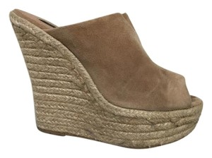French Connection Tan Wedges