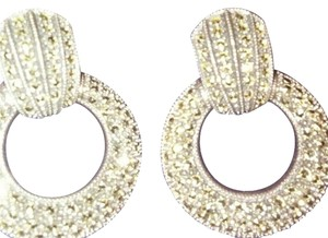 Judith Jack Judith Jack Sterling Silver Marcasite. Earrings Judith Jack