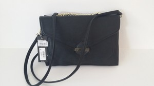Olivia + Joy Ash Blue Cluth Detachable Cross Body Bag